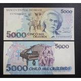 Brasil Billete 5000 Cruzeiros Unc 1993