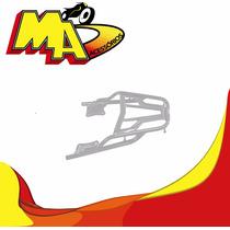 Bagageiro Suporte Yamaha Ybr 125 Factor 2009 Ed Cromado Ma