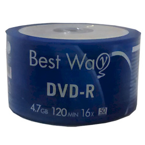 Dvd-r Best Way 4.7 Gb 16x 100 Midia Lacrado