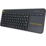 Teclado Inalambrico Logitech K400 Plu Touch Pad Smart Tv Usb
