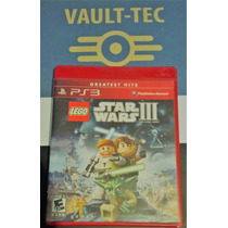 Lego Star Wars Clone Wars Iii, Playstation 3, Ideal P/ Niños