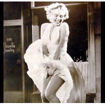 Vestido Marilyn Monroe Seda Fria Talles Xs Al 8xl, Jeans