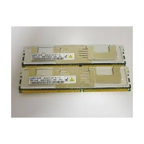 Memoria Ddr2 Ecc ,pc5300f, Kit 8 Gb, 2 Pentes De 4 Gb.