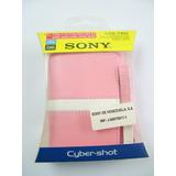 Estuche Forro Camara Sony Dsc-t100 T75 T25 T20 T2 W90 W85