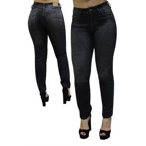 Calça Jeans Feminina Plus Size Com Lycra - Direto Da Fábrica