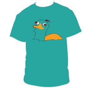 Perry El Ornitorrinco Poleras Estampadas