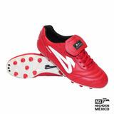 Zapato Fútbol Olmeca Upper Roj Envío Gratis
