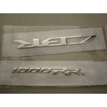 Emblema Calca 3d Plastificada Honda Cbr 1000 Rr Motomaniaco
