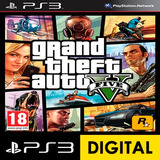 Grand Theft Auto V Ps3 Digital