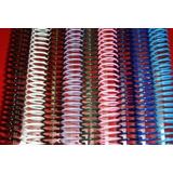 Espirales Plasticos Para Encuadernacion Nº 14 Pte. X 50 Uni.