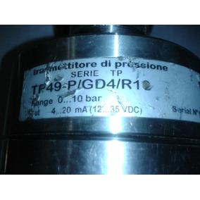 Trasmisor De Presion, En Acero Inoxidable, Analogo 4 A 20ma
