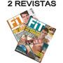 Kit 2 Revistas Fit Homem Academia Treino Esporte