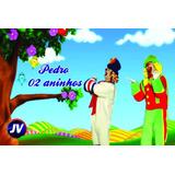 Painel De Festa Infantil Lona Banner 180 X 120 Cm Fosco