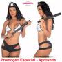 Fantasia De Policial Sexy / Xerife Sensual Erotica Sexual