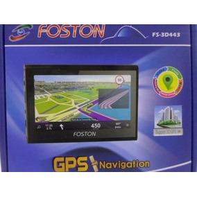 Gps Foston Fs-3d443 4.3 / Mapas 3d 128mb Ddr3 Original Novo