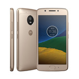 Moto G5 Xt1672 Ouro 4g Cam 13mp Ram 2gb Android 7 - 32gb