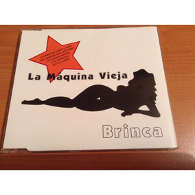 La Máquina Vieja Brinca Remixes Cd Sencillo Promo