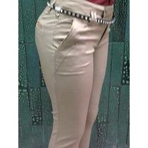 Pantalón En Dril Satinado Para Dama