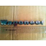 Emblema Jeep Wagoneer (letras Wagoneer) Acabado Metal