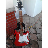 Guitarra Electrica Marca Dean Roja