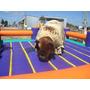 Toro Mecanico Alquiler Ring De Box Y Gladiador Cama Elastica