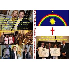 Dvd Banda Calypso Titulo De Cidadaos Pernambucanos 2009