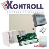 Kit De Alarma Dsc Pc585 4 Zonas Teclado Llamador Telefonico