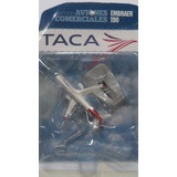 Aviones Comerciales 10 Cm Taca Embraer 190