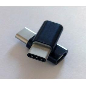 Adaptador Type C Macho Micro Usb Femea Carregador Galaxy S8