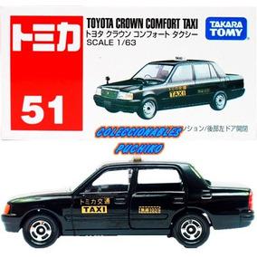 Tomica Carro Taxi Toyota Crown Conford 1/63 Metalico Takara