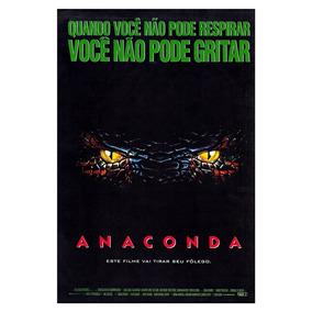 Poster A3 Do Filme Anaconda