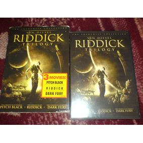 Pelicula Ridick Trilogy Edition Limitada Doble Dvd Original