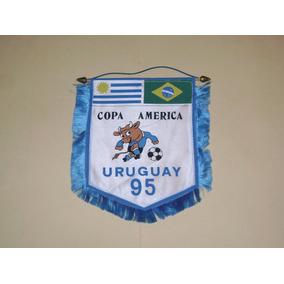 Banderin Original Final Copa America Uruguay 95
