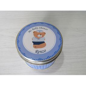 Souvenirs 10 Lata Personalizadas Nacimiento,bautismo