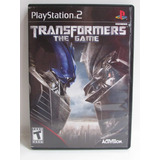 Transformers The Game - Playstation 2 Original Completo