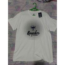 Playera Camiseta Rayados De Monterrey Original Envio Gratis