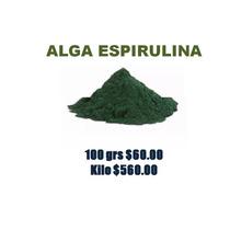 Alga Spirulina. 100 Grs 60