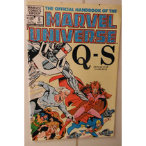The Official Hand Book Of The Marvel Universe Q-s #9 1983