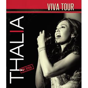 Dvd + Cd Thalia Viva Tour En Vivo Nuevo Original