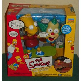 Bart Simpson Skate De Controle Remoto Playmates