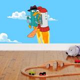 Fotomurales Adhesivos Phineas Y Ferb