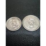 Monedas Mexico 5 Y 10 Centavos 1937 Y 1940 Mbc