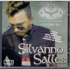 Cd Silvanno Salles - Vol. 18 / Mozão - Novo***
