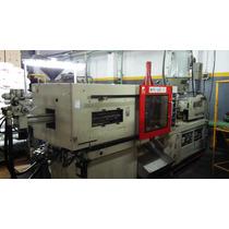 Maquina Inyectora Plastico Poyuentos 160tn En Funcionamiento