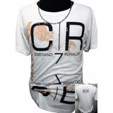 Remeras Cristiano Ronaldo Sublimadas Real Madrid Bernabeu