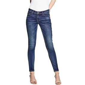 Pantalon Guess Original Skinny Jeans-leggins-mezclilla-low