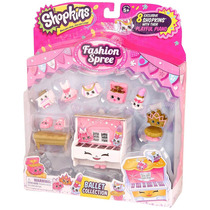 Set Shopkins Ballet Collection Fashion Spree Paquete Shop