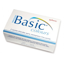 Lentes De Contacto Waicon Basic Colours Mensuales- Recoleta