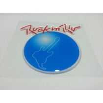 Emblema Rock In Rio Resinado Gol Fox