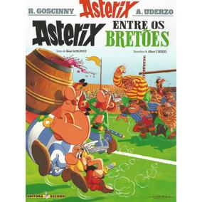 Asterix 08 Entre Os Bretoes - Record - Bonellihq Cx 93